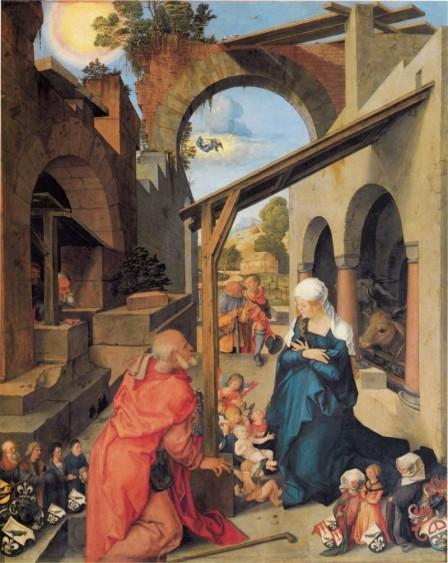 Albrecht Dürer: Die Geburt Christi