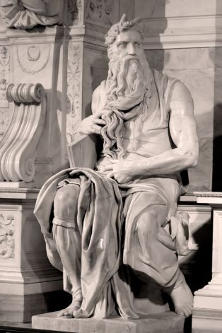 Michelangelo: Moses