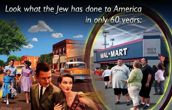 Was der Jude Amerika in nur 60 Jahren angetan hat.